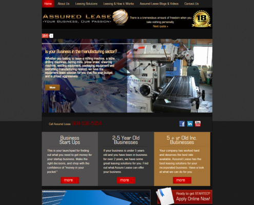 assured-ease-hamilton-web-design