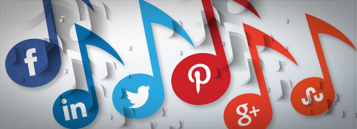 music-social-media
