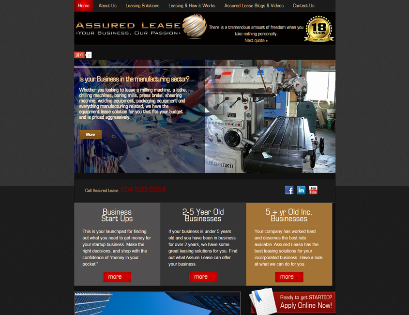 assured-ease-hamilton-web-design